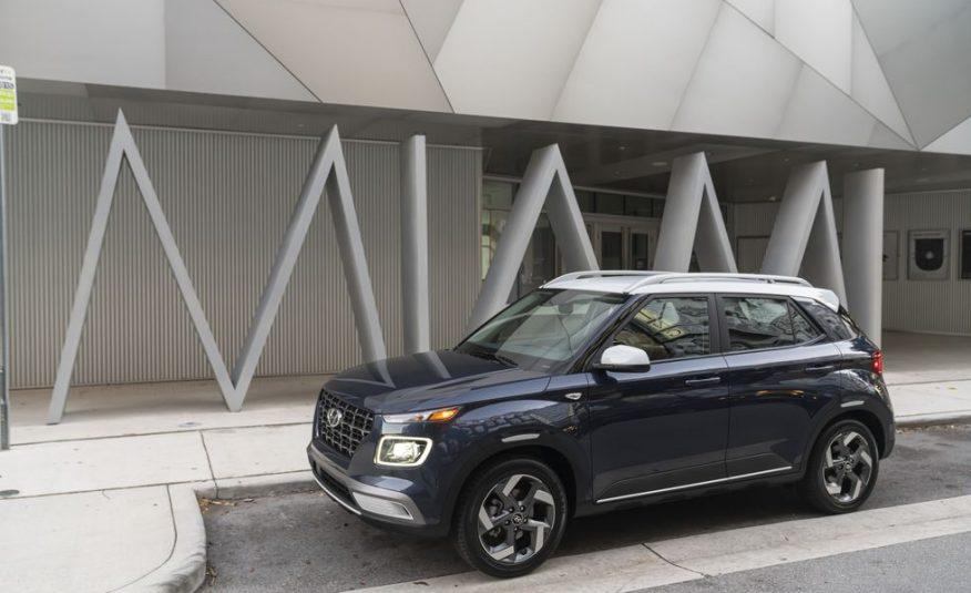 2020 Hyundai Venue SE        36 mo/10,000 yr