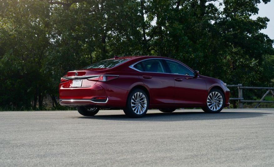 2021 Lexus ES 250 AWD    36 mo/7,500 yr