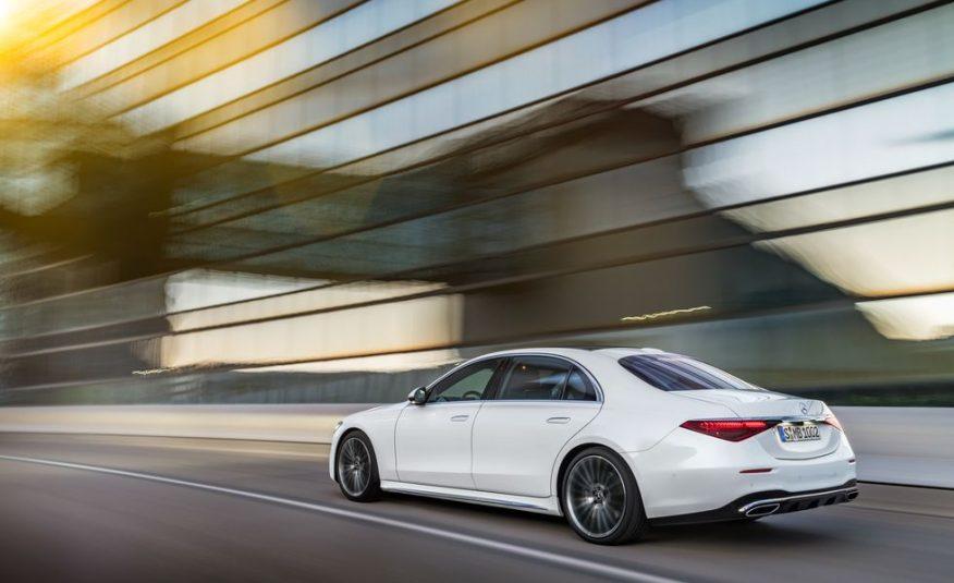 2021 Mercedes-Benz S580