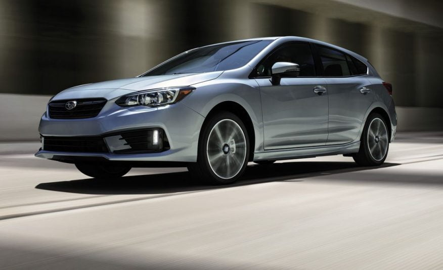 2021 Subaru Impreza    36 mo/10,000 yr