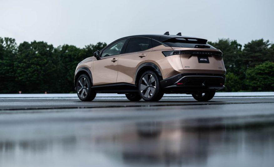 2021 Nissan Ariya   Dual motors, e-4ORCE