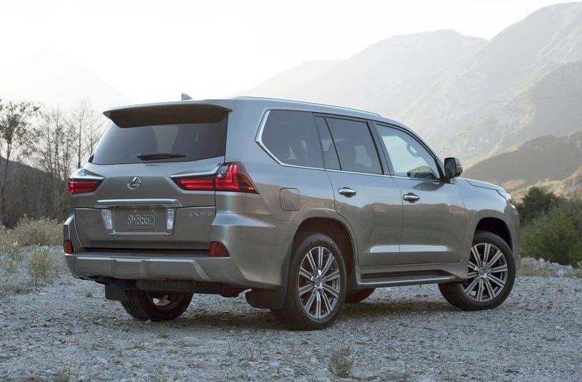 2021 Lexus LX 570  5 seats     36 mo/7,500 yr