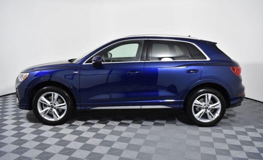 2021 Audi Q3 AWD      42 mo/7,500 yr